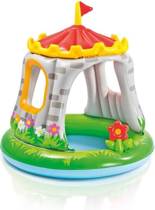 Baby zwembad - Royal Castle met dakje