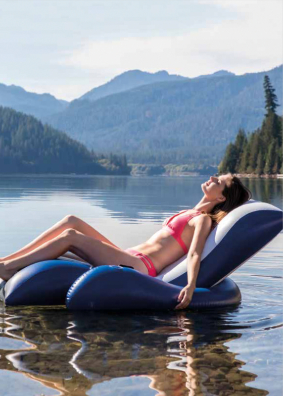 Luxe Lounge Stoel.Luxe Lounge Stoel Voor Op Het Water Luchtbedden 123zwembad Nl