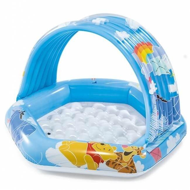 Baby zwembad - Winnie the Pooh met dakje