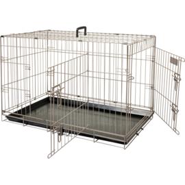 Hondenbench Ebo Taupe M 77 x 47 x 55 cm