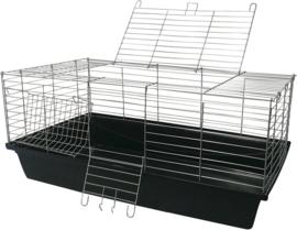 knaagdierenkooi Skyline  100cm zwart