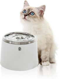 Cat it fontein stainless steel 2ltr