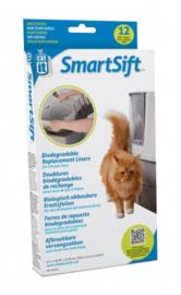 12stuks Kattenbakzak Cat It Smart Sift Afvalzak  70ltr.