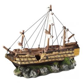 Zeilboot 37x12x28,5CM