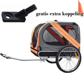 hondenfietskar+ gratis koppeling voor 2de fiets !