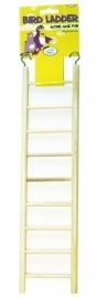 Houten ladder 9 treden