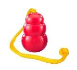 Kong classic met touw rood / geel large