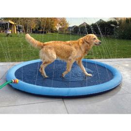Splash play mat Blauw Ø150cmx1,5cm