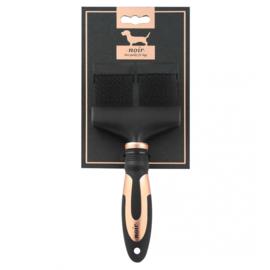 Noir flexibele slicker borstel 21 x 9,5cm