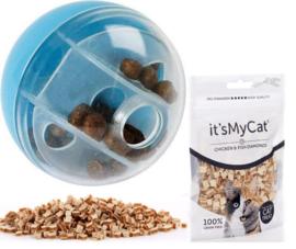 Snackbal incl. snacks voor katten