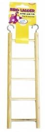 Houten ladder 5 treden