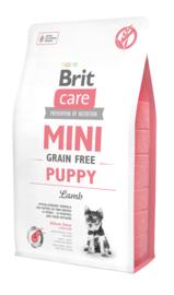 Brit Care Mini Graan vrij Puppy Lam vanaf
