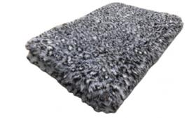 Vetbed panter grijs 100 x 75
