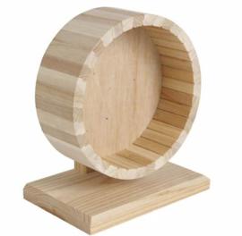 Loopwiel hout 29cm
