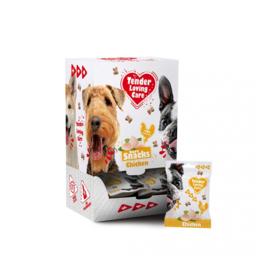 Soft snack kip puppy 25 x 100gram hypoallergeen