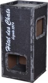 Krabpaal trend rockefeller 77 Antraciet 36x36x77cm