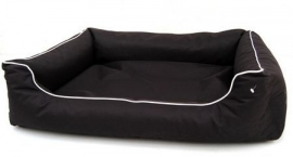 hondenmand Paula  100x75cm  zwart
