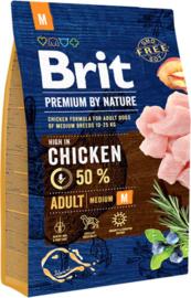 Brit Premium by nature Adult M vanaf