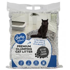 Kattenbakvulling premium active black carbon Blauw/grijs 12kg