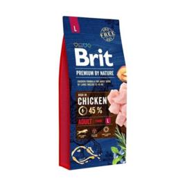 Brit Premium by nature Adult L vanaf
