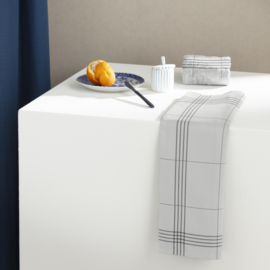 6 x keukendoek Morvan White, biokatoen