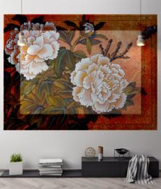 Framed Wallpaper PEONY