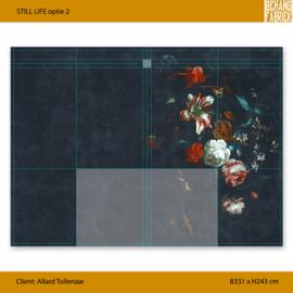 STILL LIFE optie 2 331x243 cm (incl. speling)