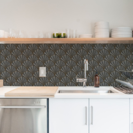 Backsplash panel STONE SHELL