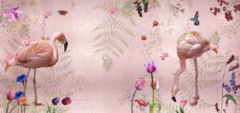 AUDUBON roze - 576 x 270 cm