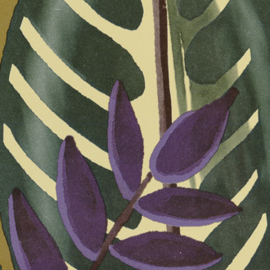 Elitis Flower Power ALOCASIA (5 kleuren)