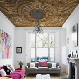 Plafondbehang GOLDEN ANGELS