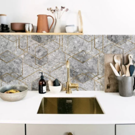 Design Collection PB022 Granite Hexagon