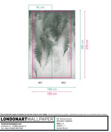 Breath of Ferns 155x270 / Marilyn 180x230