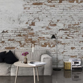 PLASTER BRICK WALL