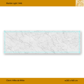 Marble Light 1446 B285 x H85 cm