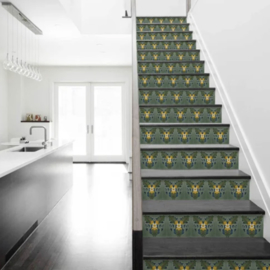 Stairs sticker ART NOUVEAU