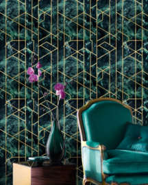 GRAMERCY EMERALD-  Metallic Collection