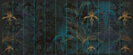THE BLUE ORCHID - 600x245 cm
