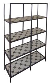 Vittsjo shelves CEMENT TILE  cross