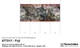 FUJI - b360 x h137,5 cm