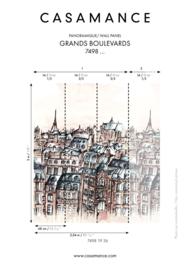 Casamance GRANDS BOULEVARDS (2 colors)