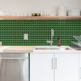 Backsplash panel BLOCK TILE