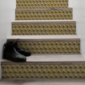 Stair Sticker GOLD PYRAMIDS