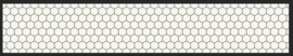 Hexagon | w360 x h62 cm