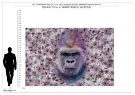 Monkey Kong 01 op Acustica 409x270 cm