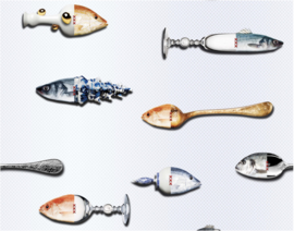FISH by Marcel Wanders  243 x 189 (incl. speling)