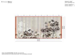 FLOWERLINES INKLSMQ2002 515x249 cm (wordt 544x259 cm)