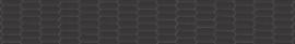 HEXAGON Wide Black | afm. B400 x H60 cm