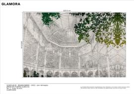 Jardin des Plantes 325 x 243 cm op GlamFusion