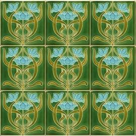 ART NOUVEAUX Green